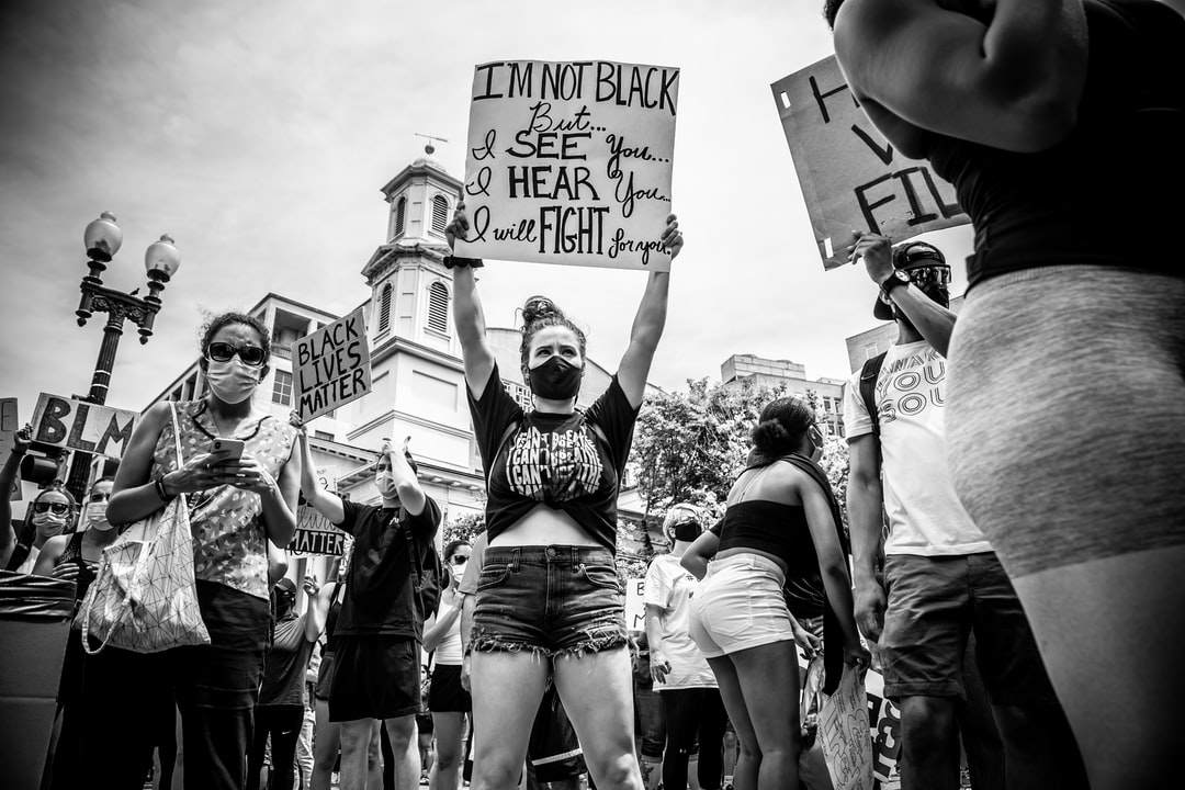 June 6, 2020 Protest outside the White House, Washington DC