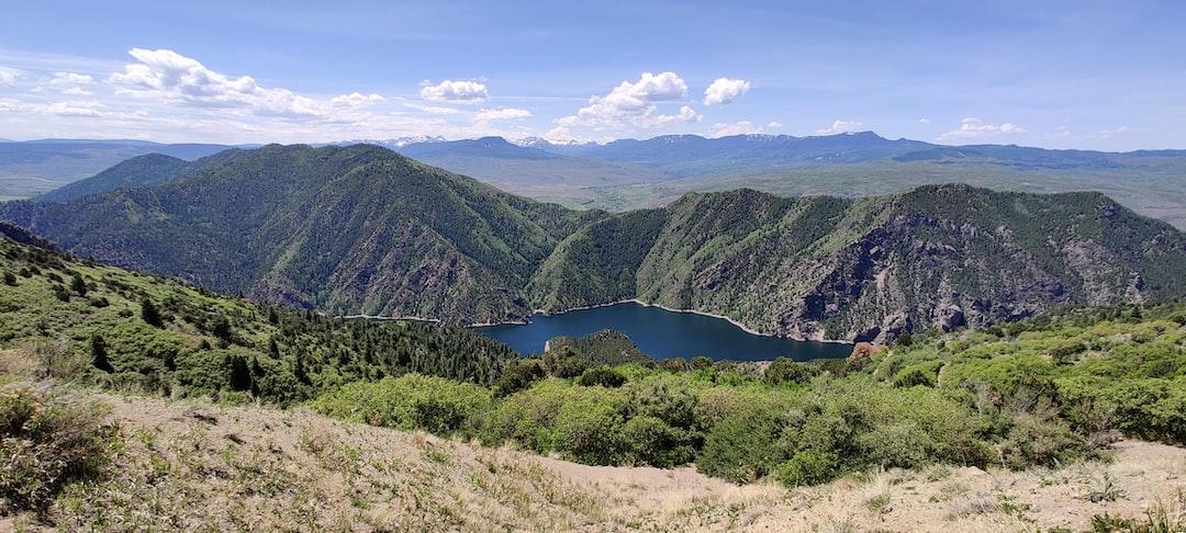 Hermits Rest Picnic Area, Colorado Mountain, Reservoir, Lake, Sky