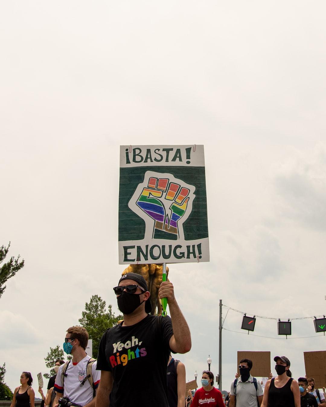 Black Lives Matter Protest in DC, 6/6/2020.  (Instagram: @koshuphotography)