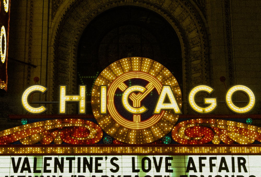 red and gold love neon light signage