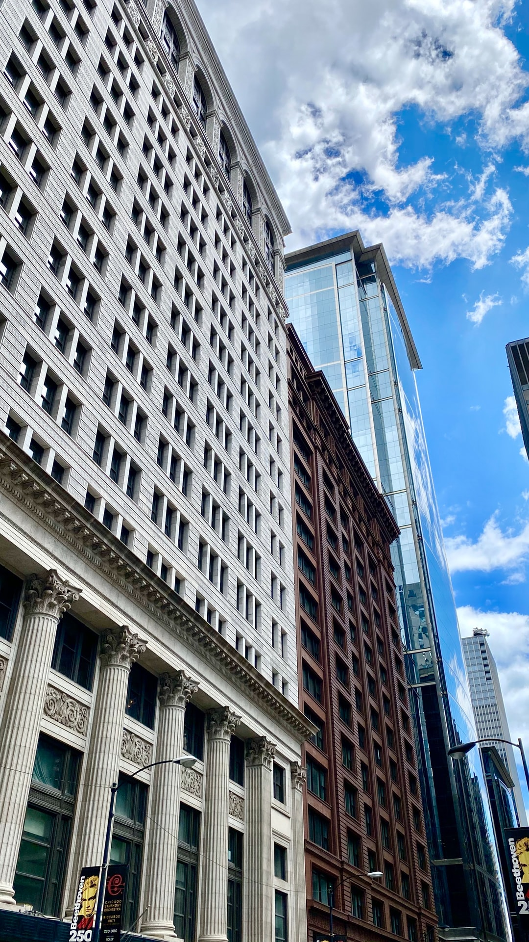 Chicago's loop has some incredible architecture.