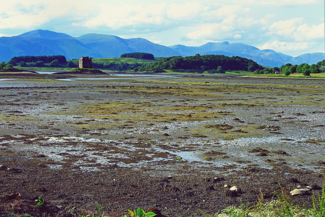 Castle Stalker is a four-storey tower house or keep picturesquely set on a tidal islet on Loch Laich, an inlet off Loch Linnhe. It is about 1 ¹⁄₂ miles north-east of Port Appin