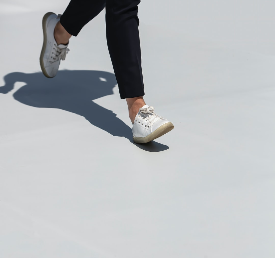 Walking on the roof