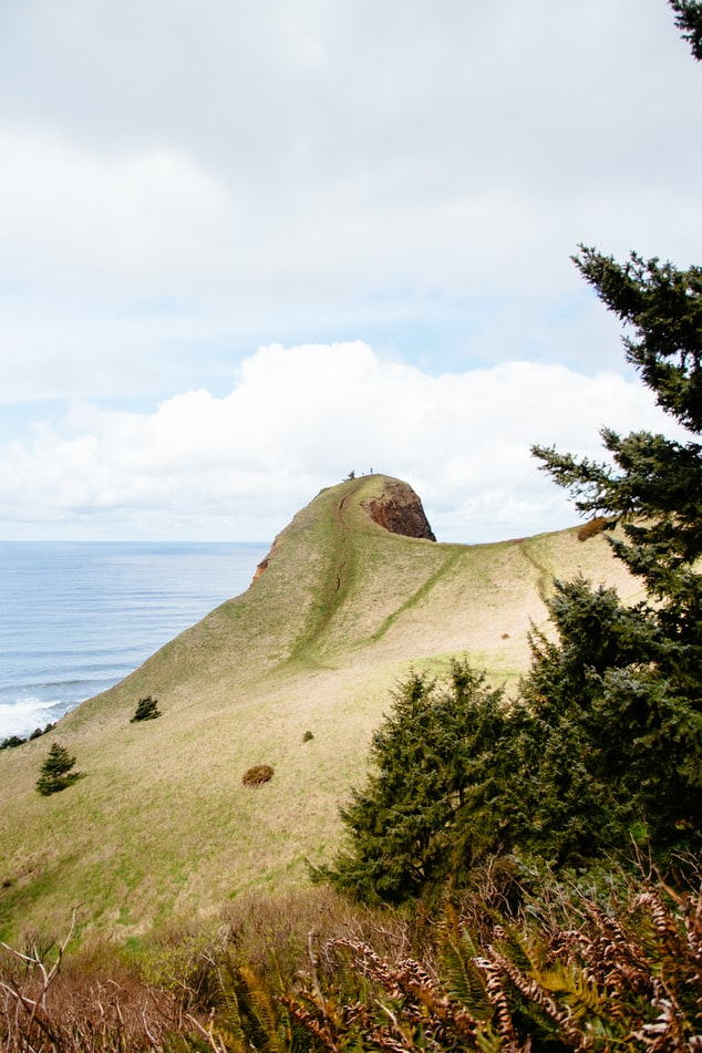 God's Thumb hill in Lincoln City, Oregon