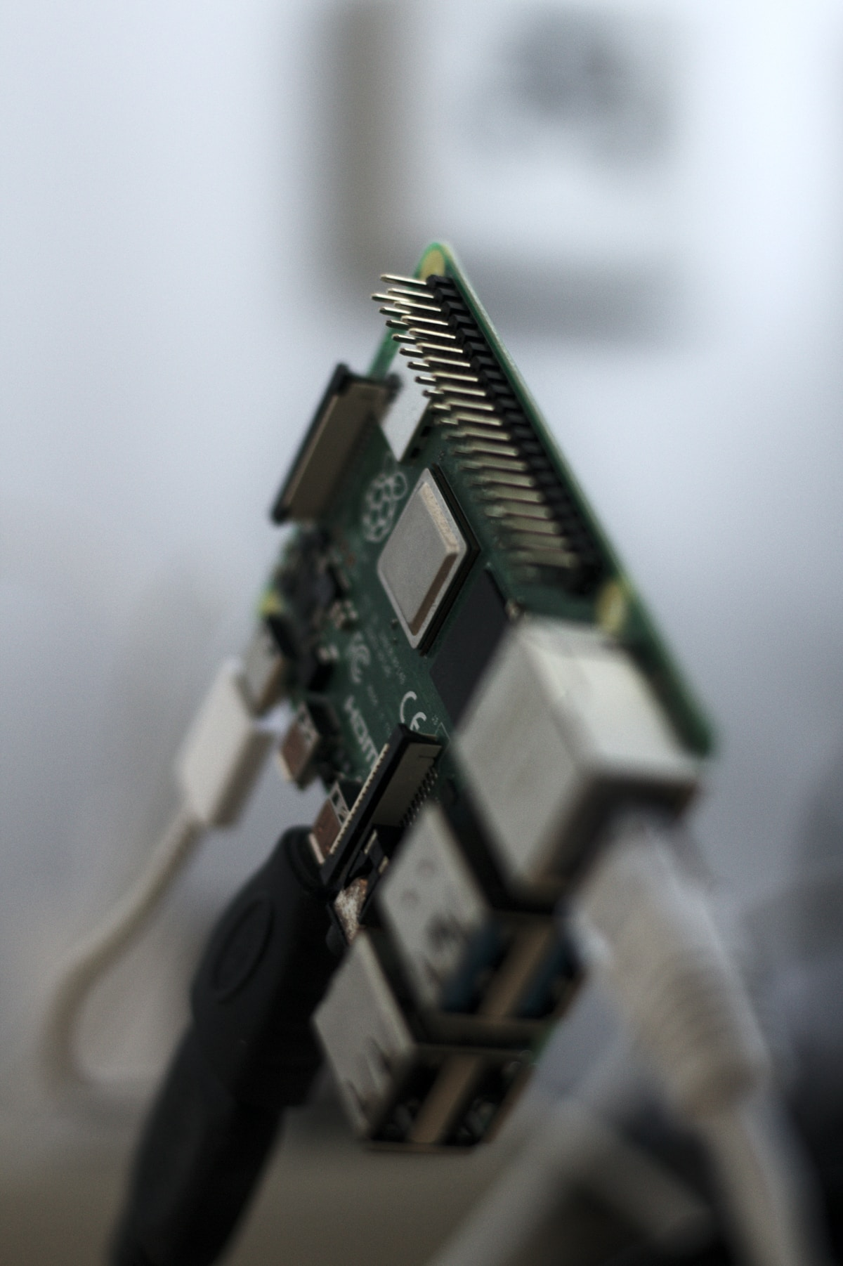 green and black computer ram stick