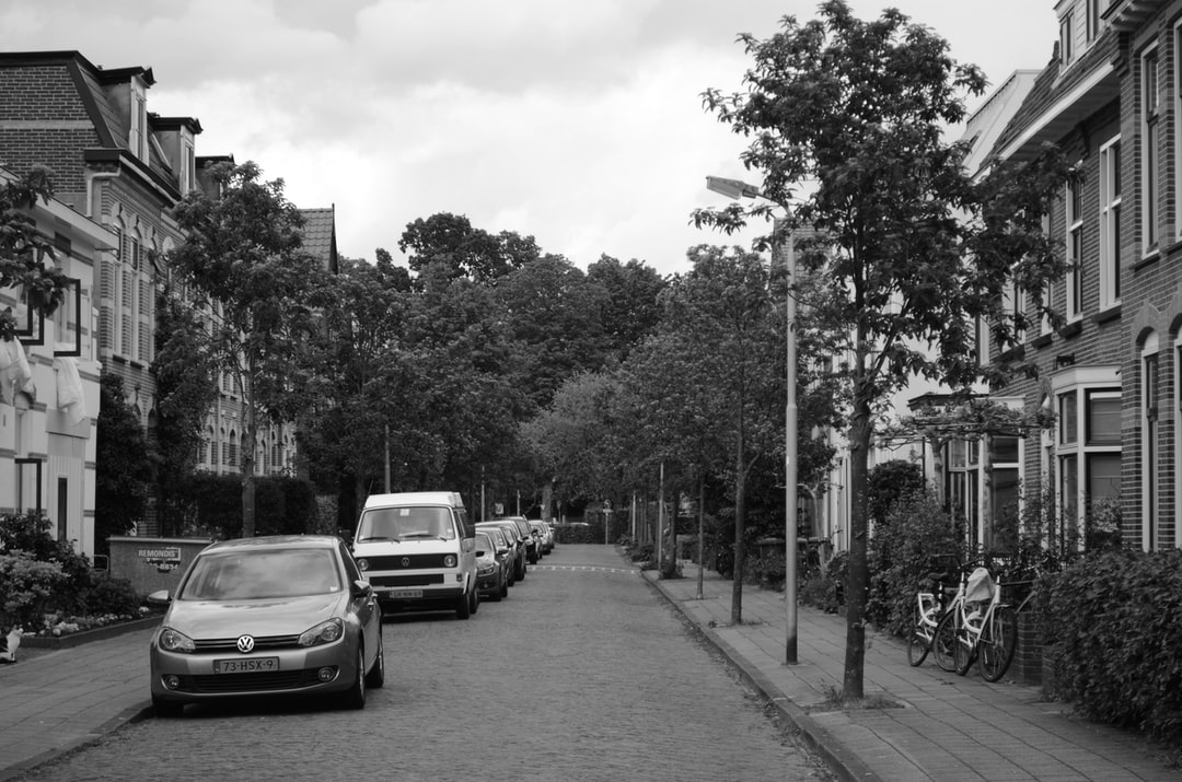 An old street in one of Amersfoort's vicinities, the Netherlands.
