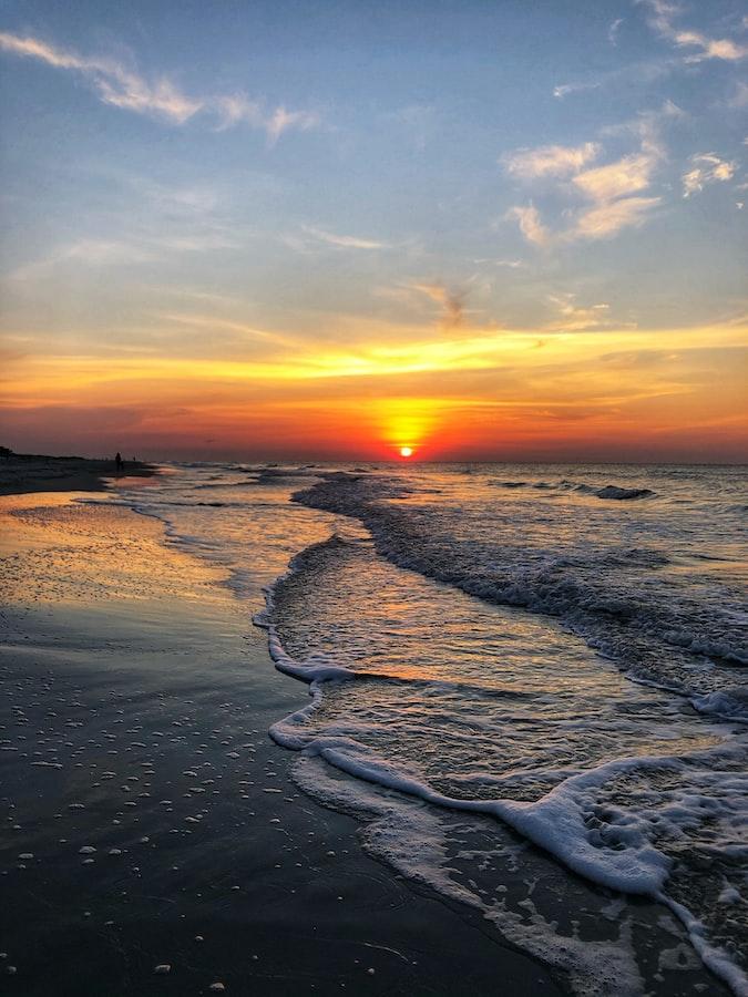 Sunset at Burkes Beach