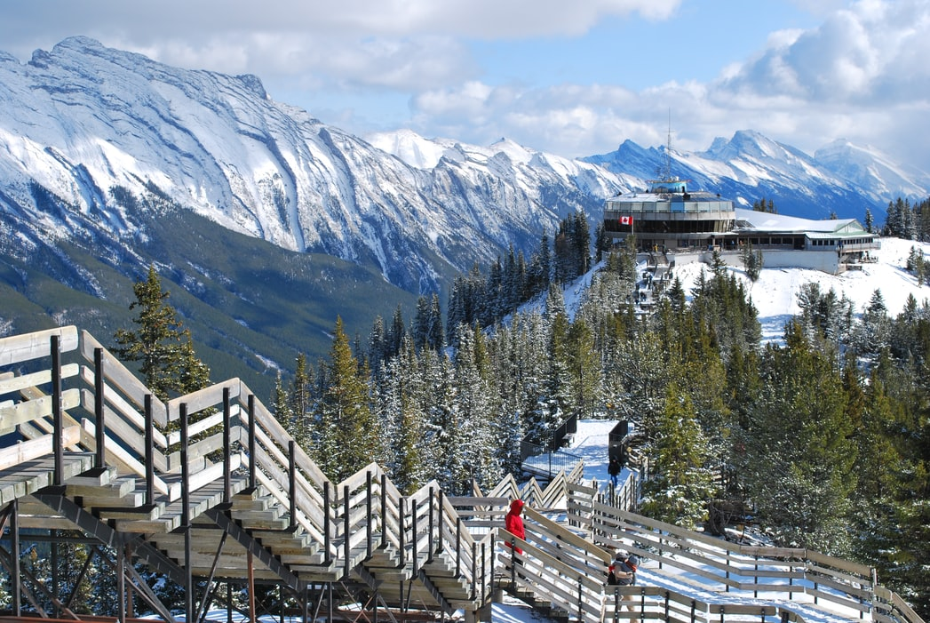 Glacier trails of Banff