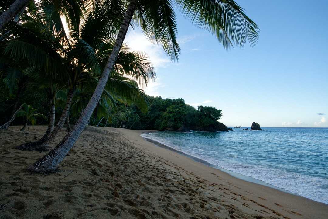 The amazing and secretive Englishman's Bay on the Caribbean Island of Tobago