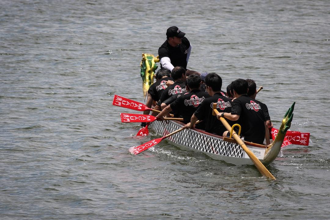 Dragon Boat Races, Macau, China
