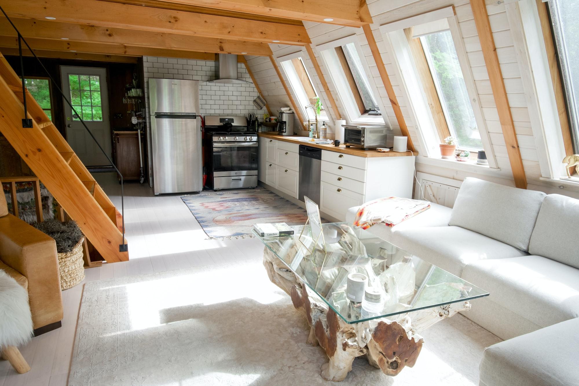 Living room interior design.