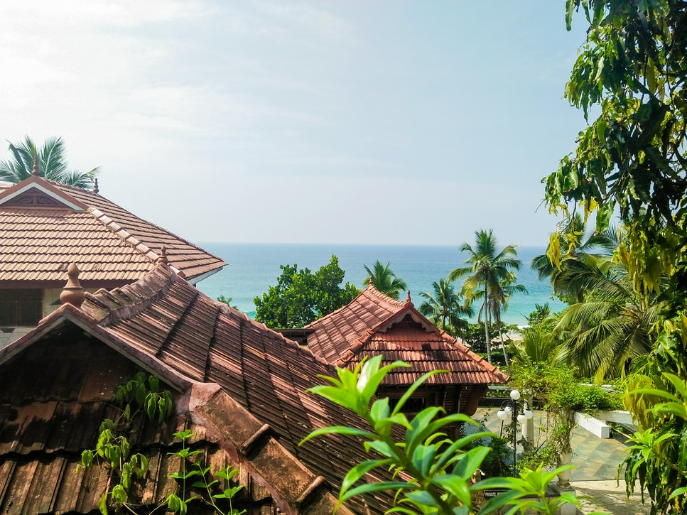Over looking of Punnamada Backwater Resort