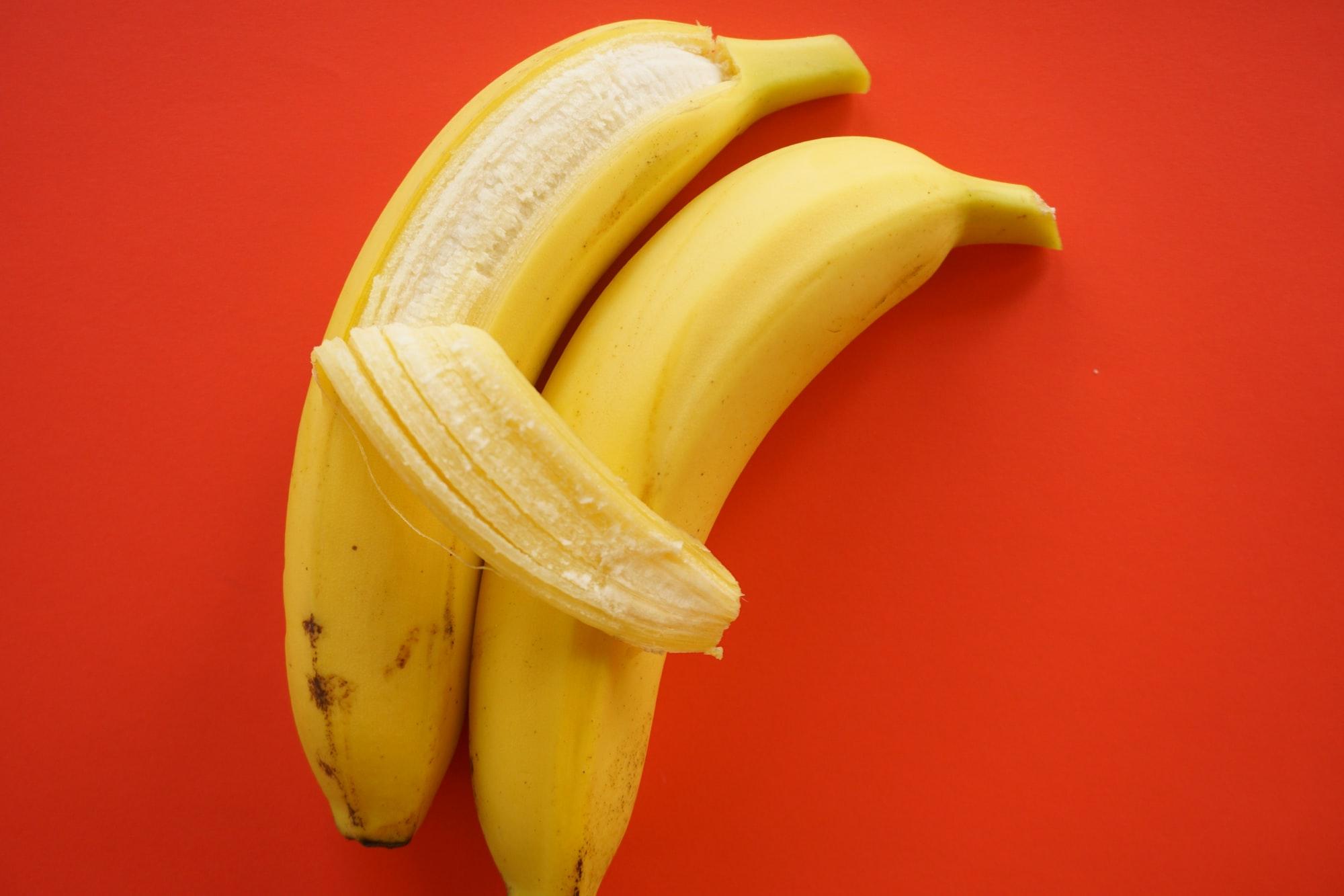 bananas cuddling