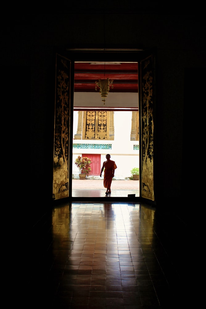 Meditation with monks in Chiang Mai