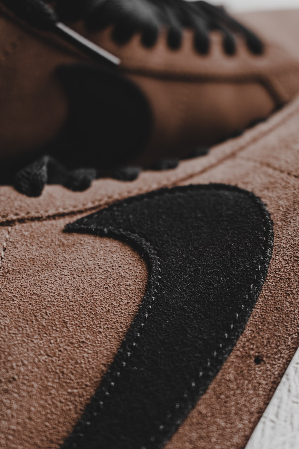 black and brown nike shoes