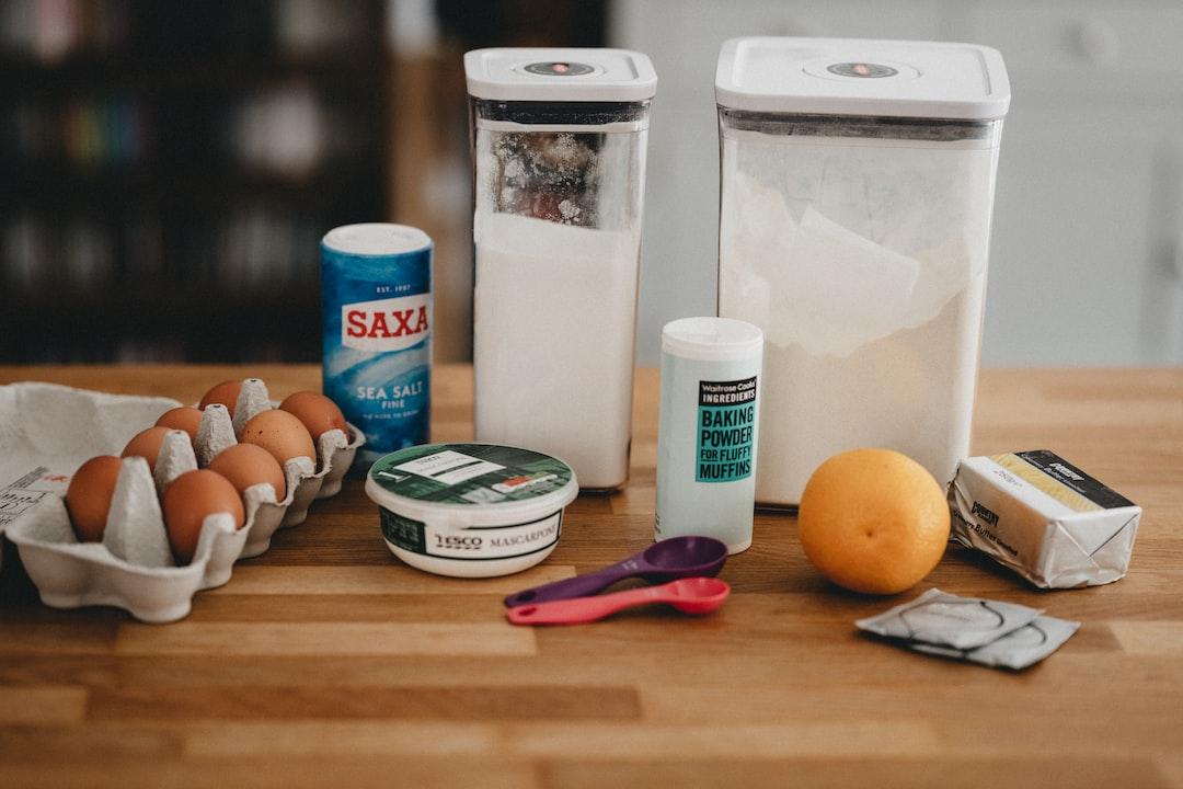 Home baking supplies
