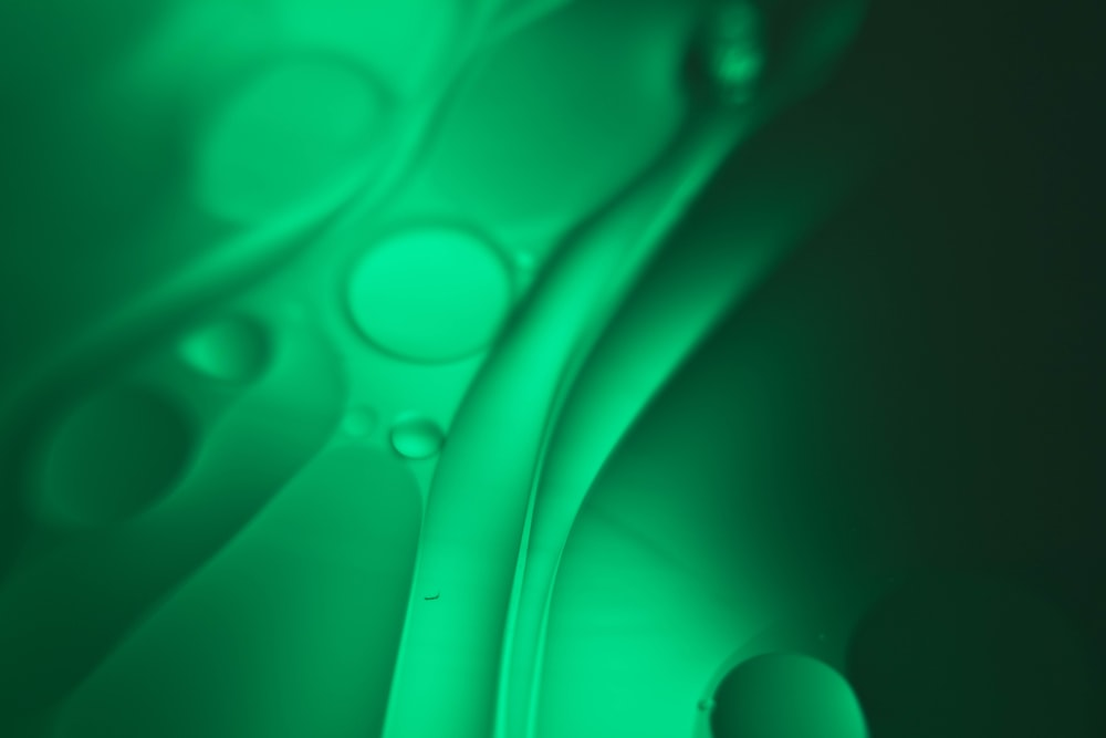 green and white light illustration