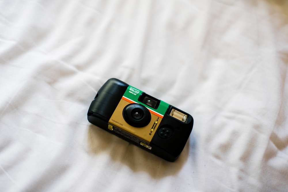 black and green point and shoot camera photo – Free Film photography Image on Unsplash