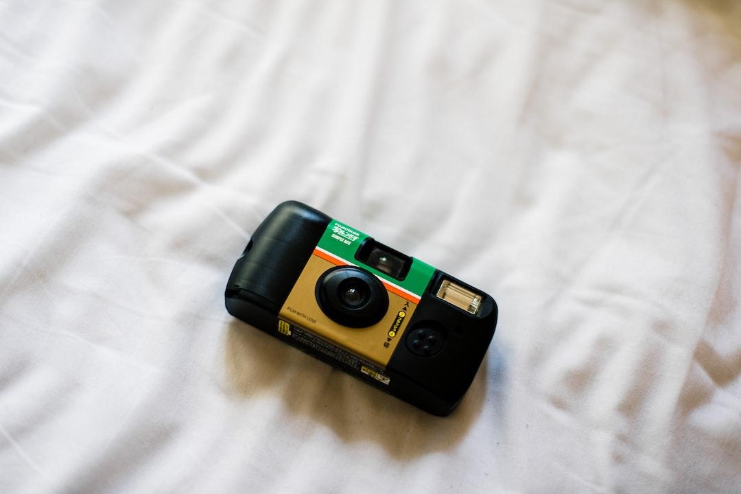 Fuji color disposable camera