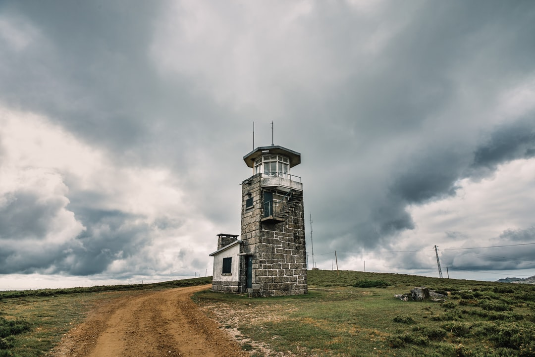 The abandoned old meteorological station in Arouca, Portugal