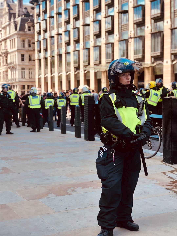 Policewoman, London.