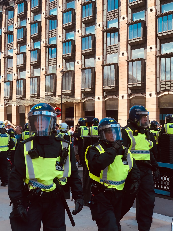 Black lives matter protests, London.