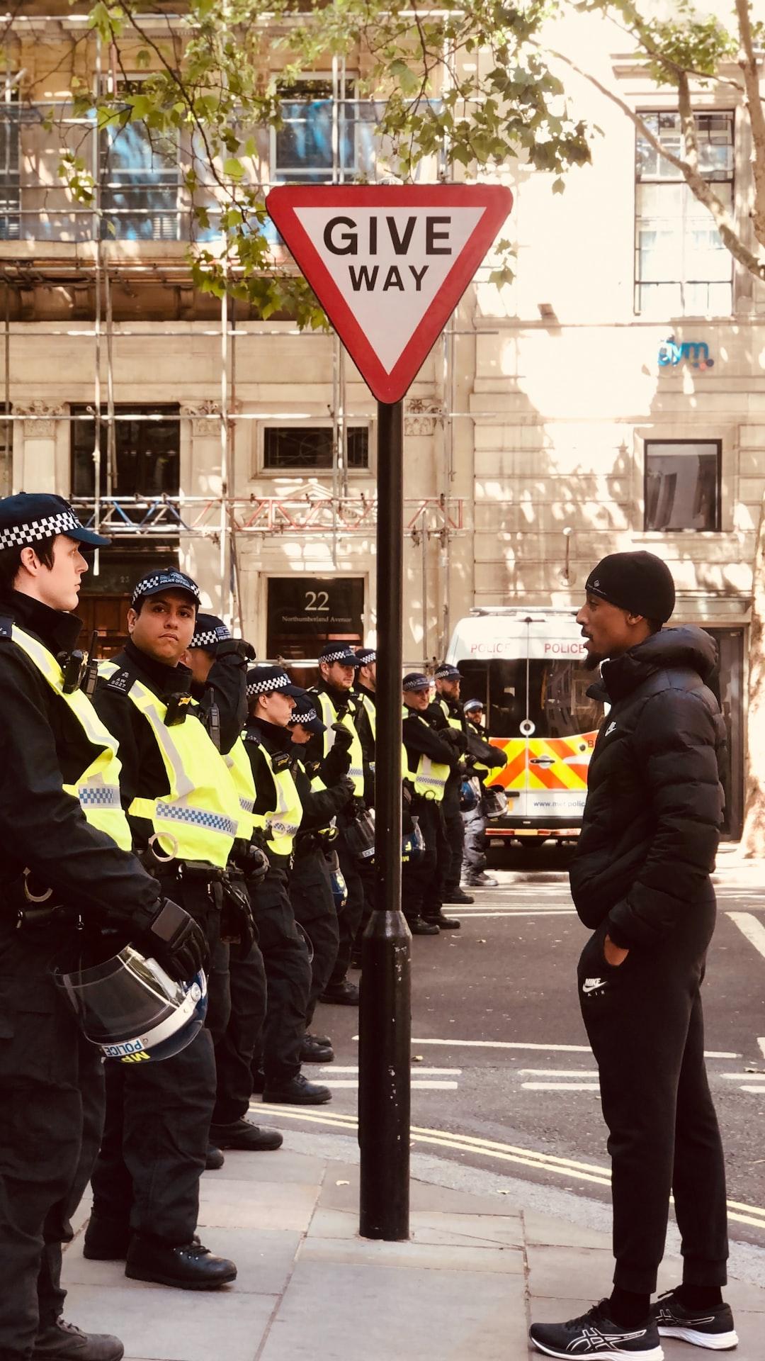 Black lives matter protest, London.