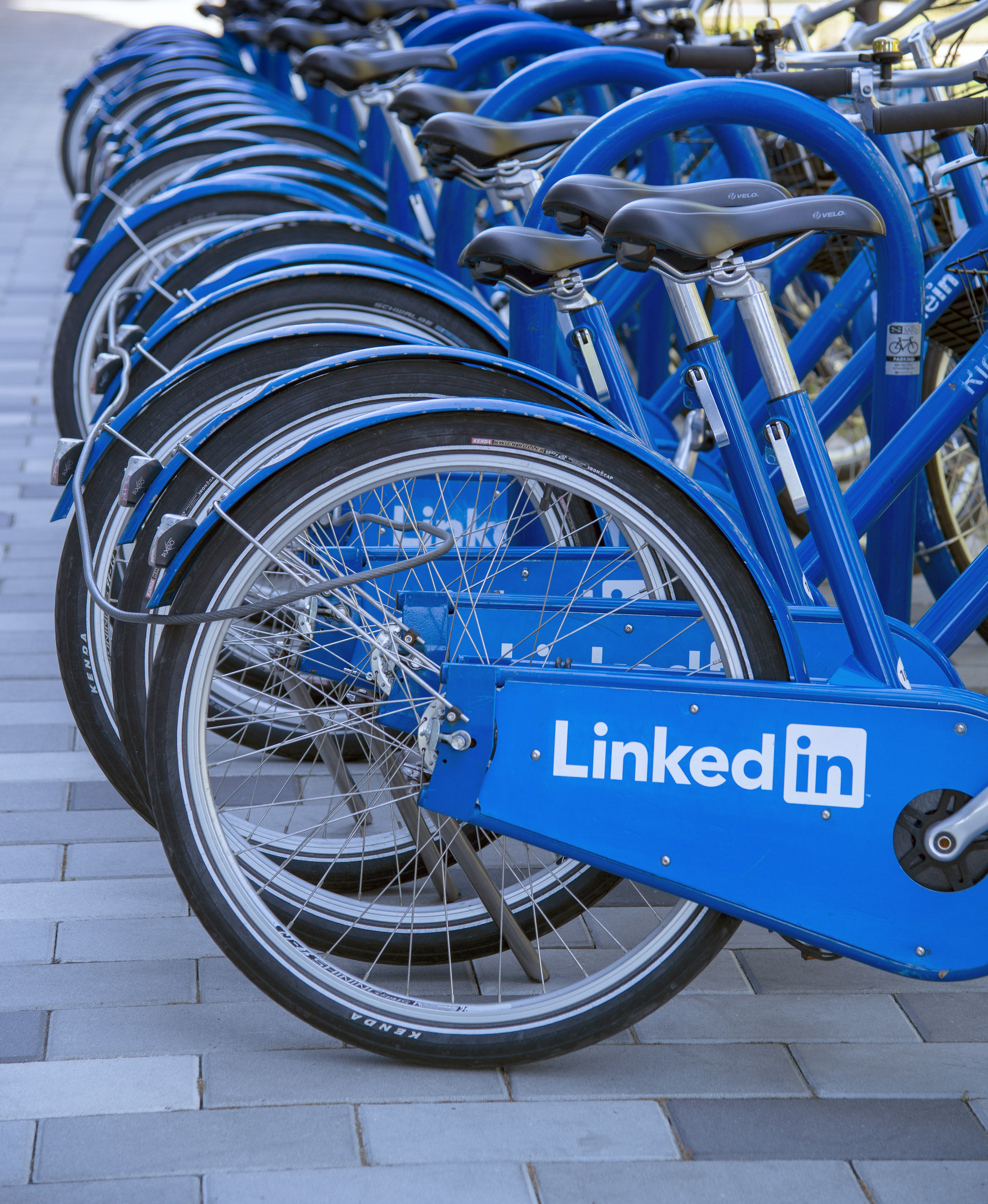 At the LinkedIn headquarters in Mountain View, California.