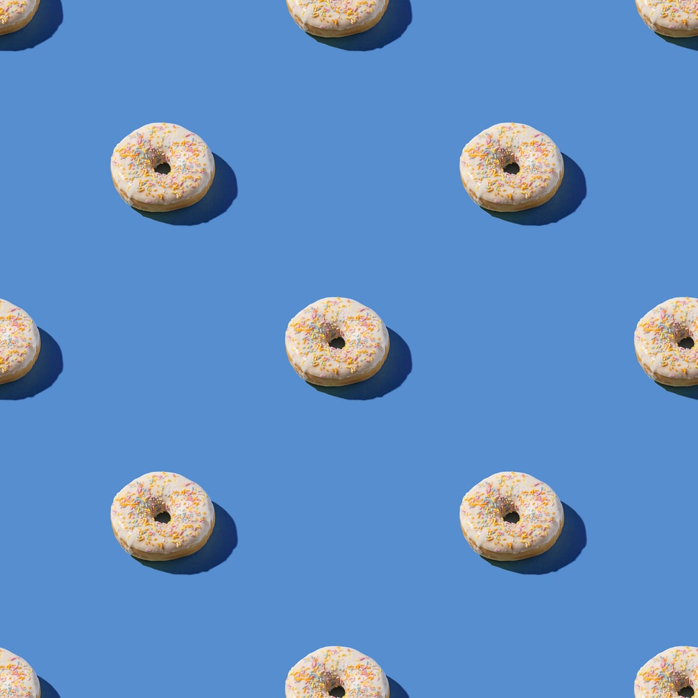 brown round fruits on blue sky during daytime