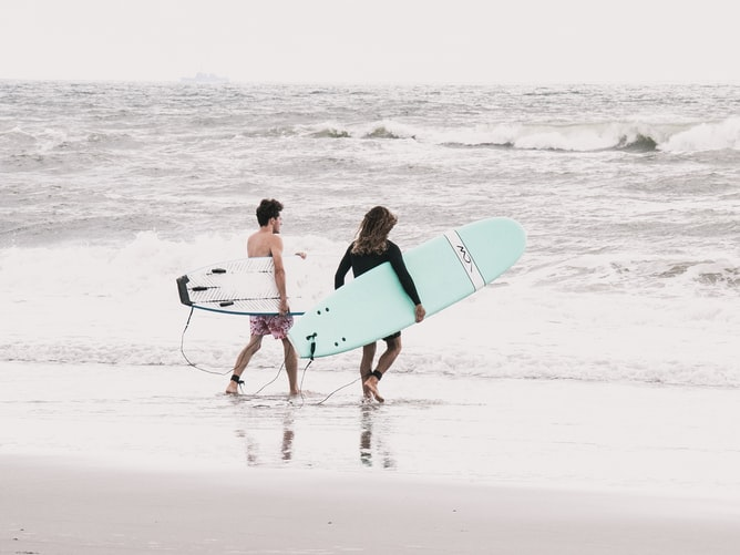 Surfing in Jacksonville Florida