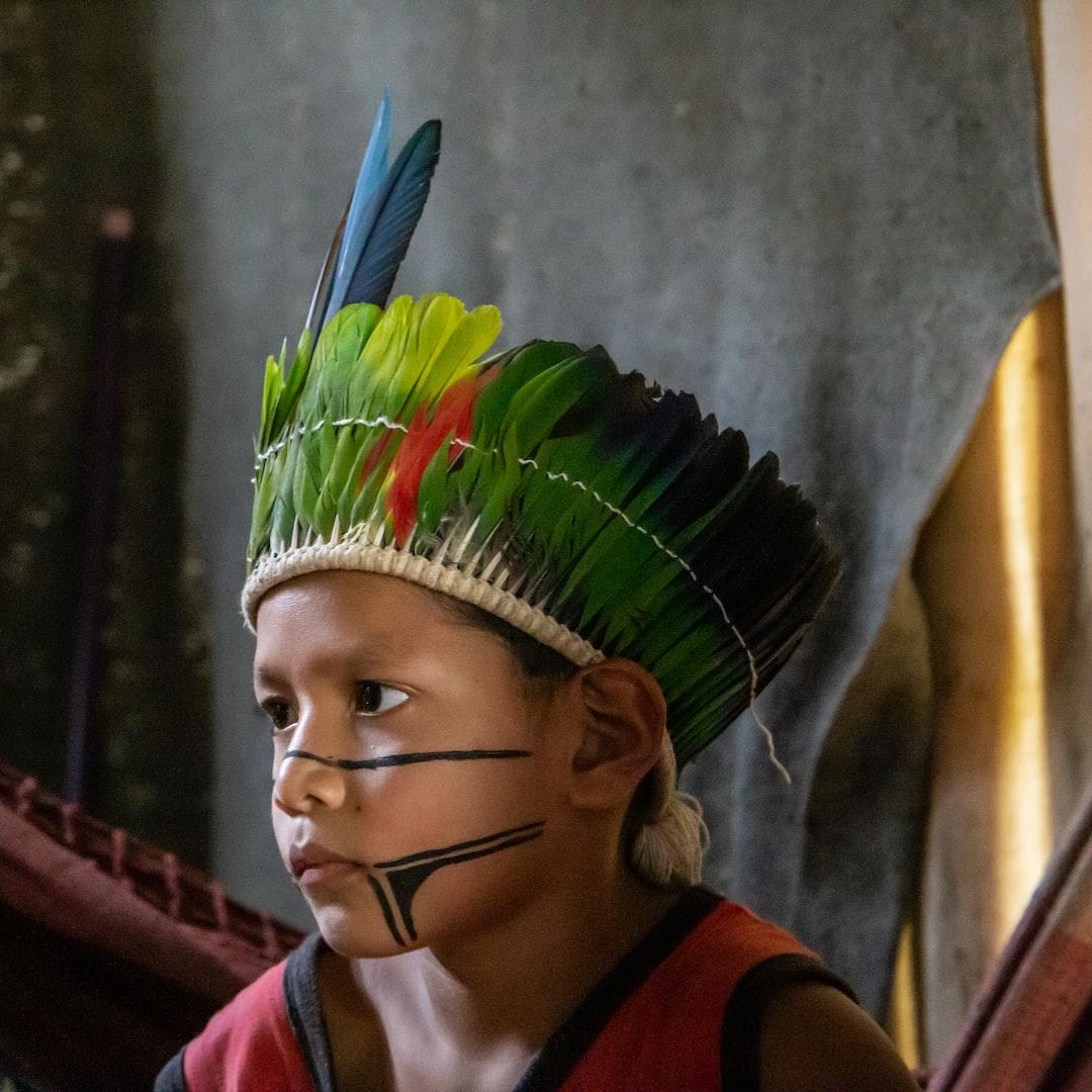Curumin :: In Guarani, the language of Brazilian Indians, means kid, boy (Tribe Rio Silveiras, Brazil, 2018)