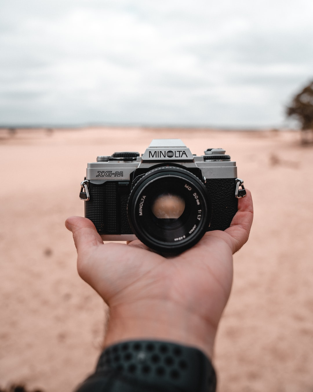 Picture of a Minolta XG-M analogic camera