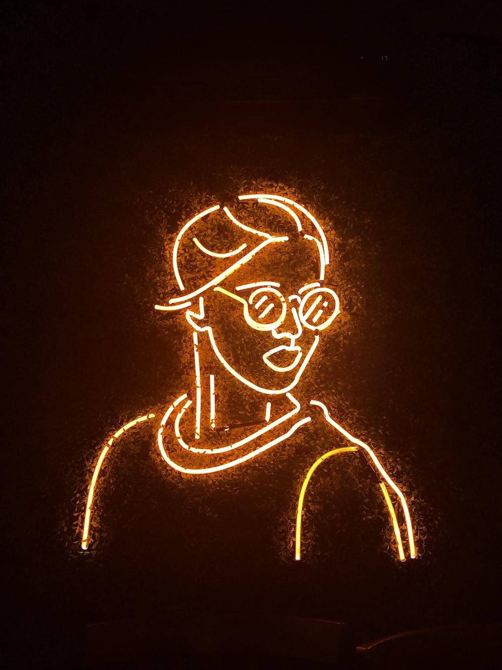 Neon Orange Pictures Download Free Images On Unsplash