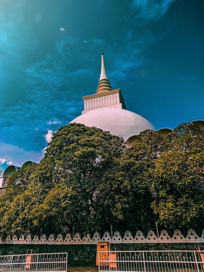 Temple in sri lanka