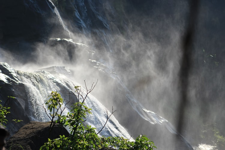 Athirepally falls in Kerala