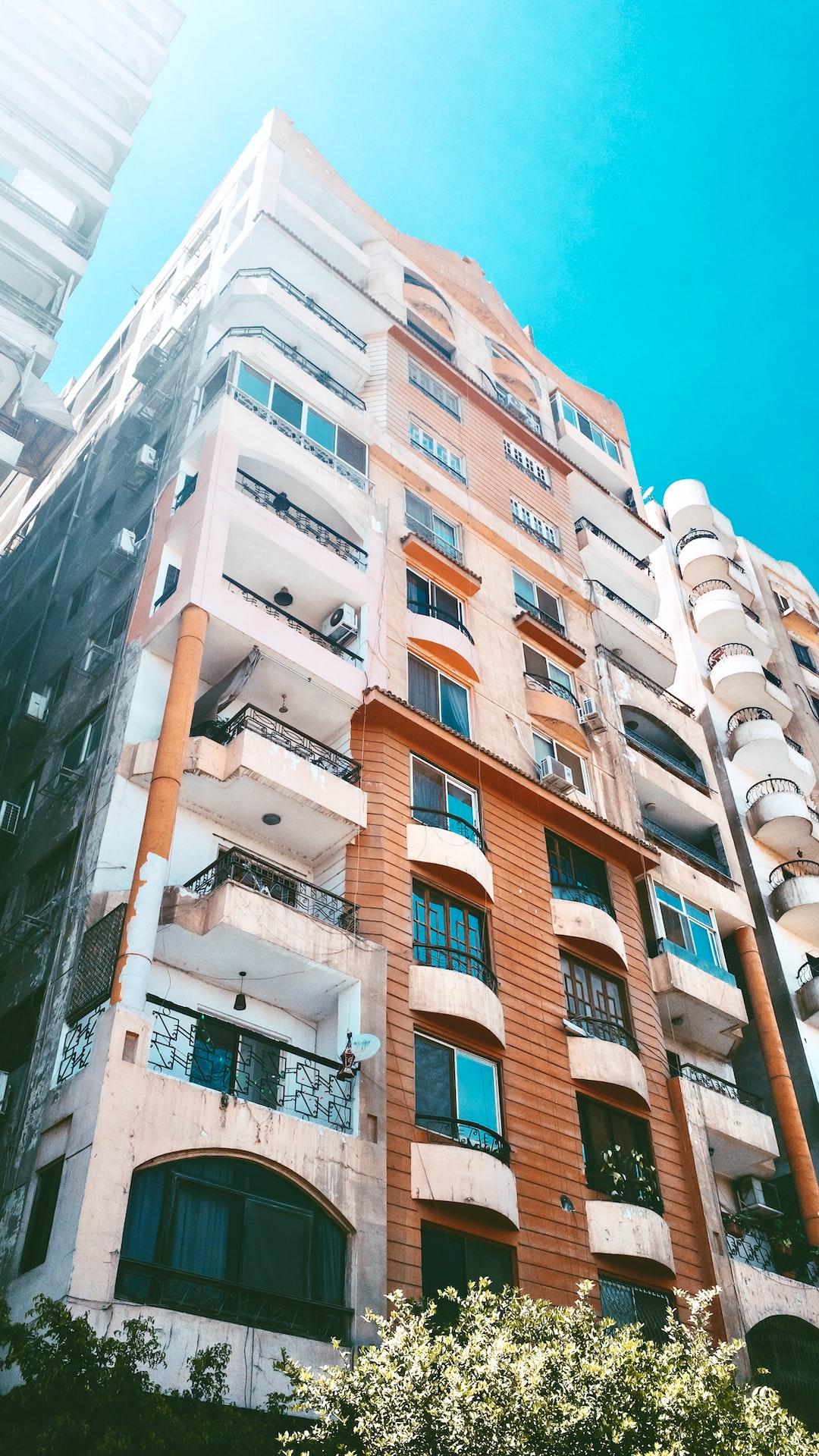 CAIRO BUILDING IN AL-MAADI حي المعادي
