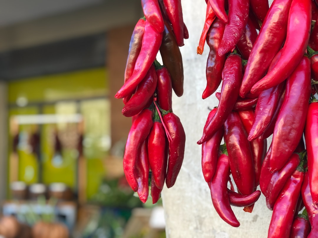 Peppers in Sicily