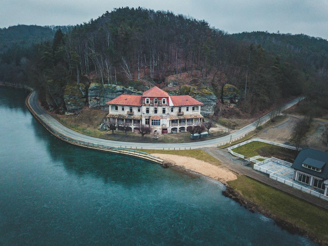 Abandoned Hotel Harasov - Drone - Czech Republic