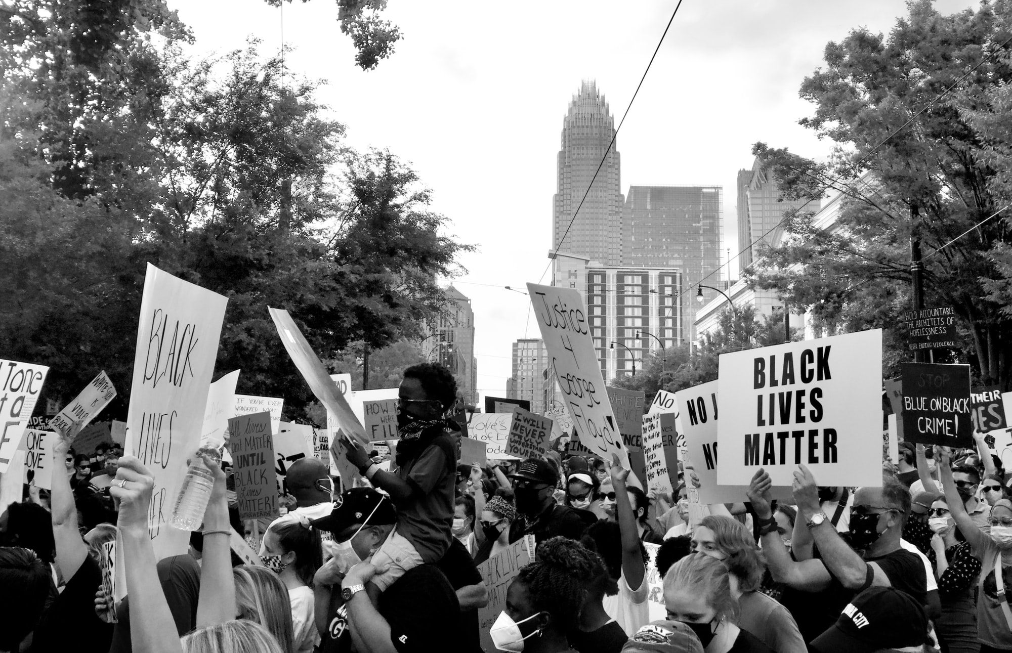Charlotte NAACP Protest on June 8th, 2020