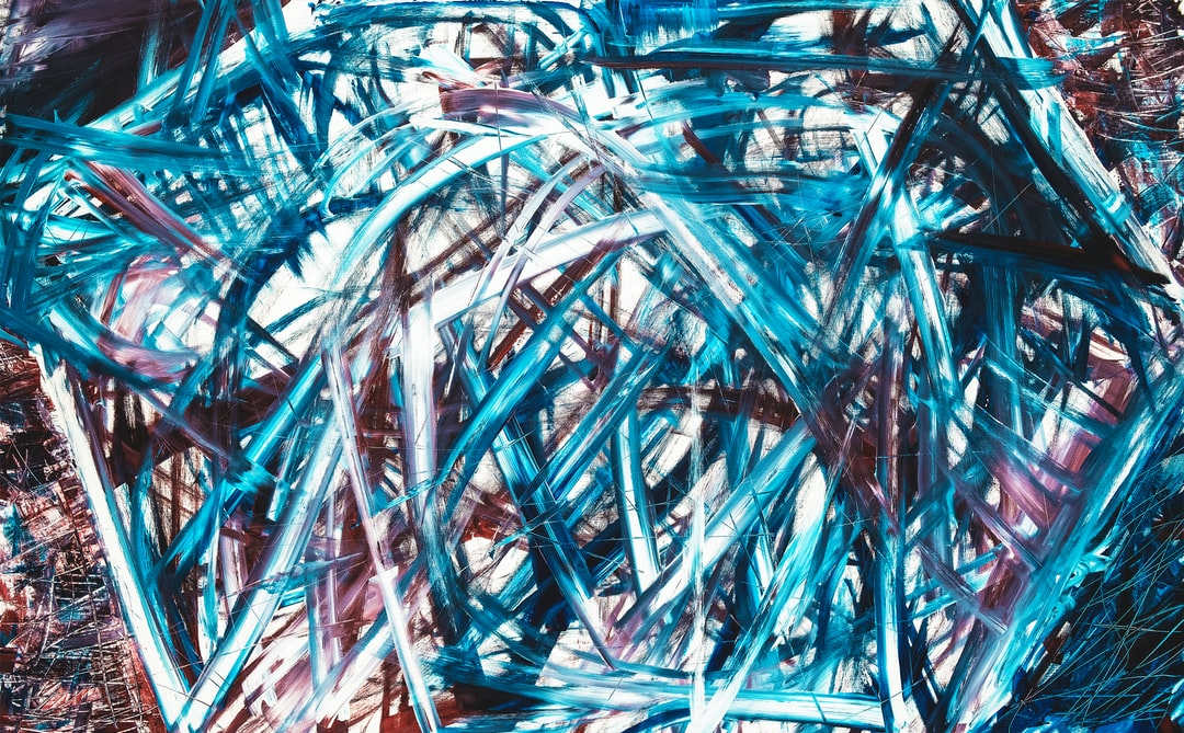 Chaos painting – Acryl on canvas painting from my fourteen year old nephew. Have a look: www.felixspiske.com