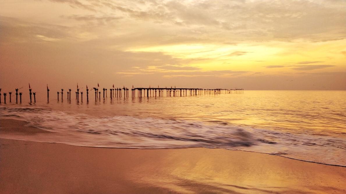 The Alappuzha beach