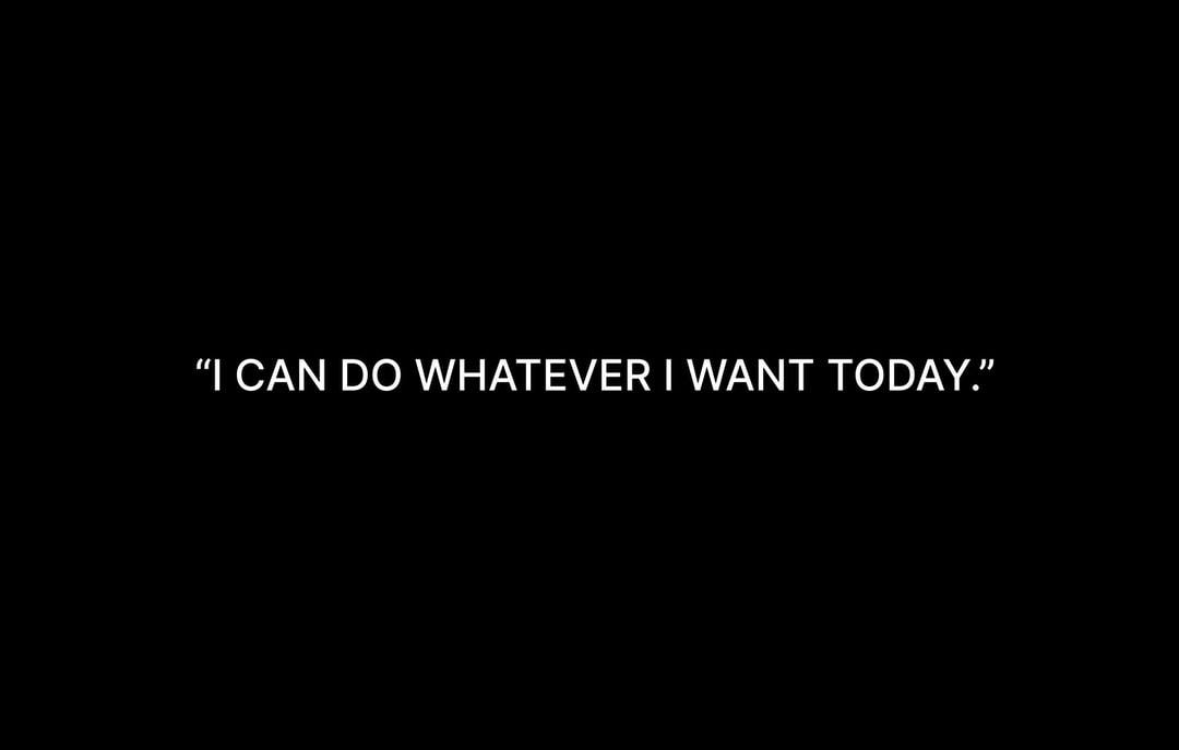 """The greatest form of wealth is the ability to wake up every morning and say, """"I can do whatever I want today."""""""