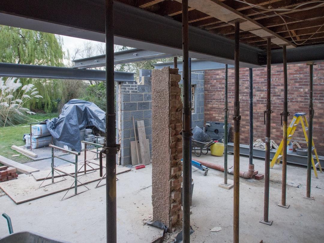 bricks, brickwork, brick work, breeze blocks, breeze block, acrow prop, steels, steel beams, building work, building project, building, extension, builders, home improvement, grand designs,