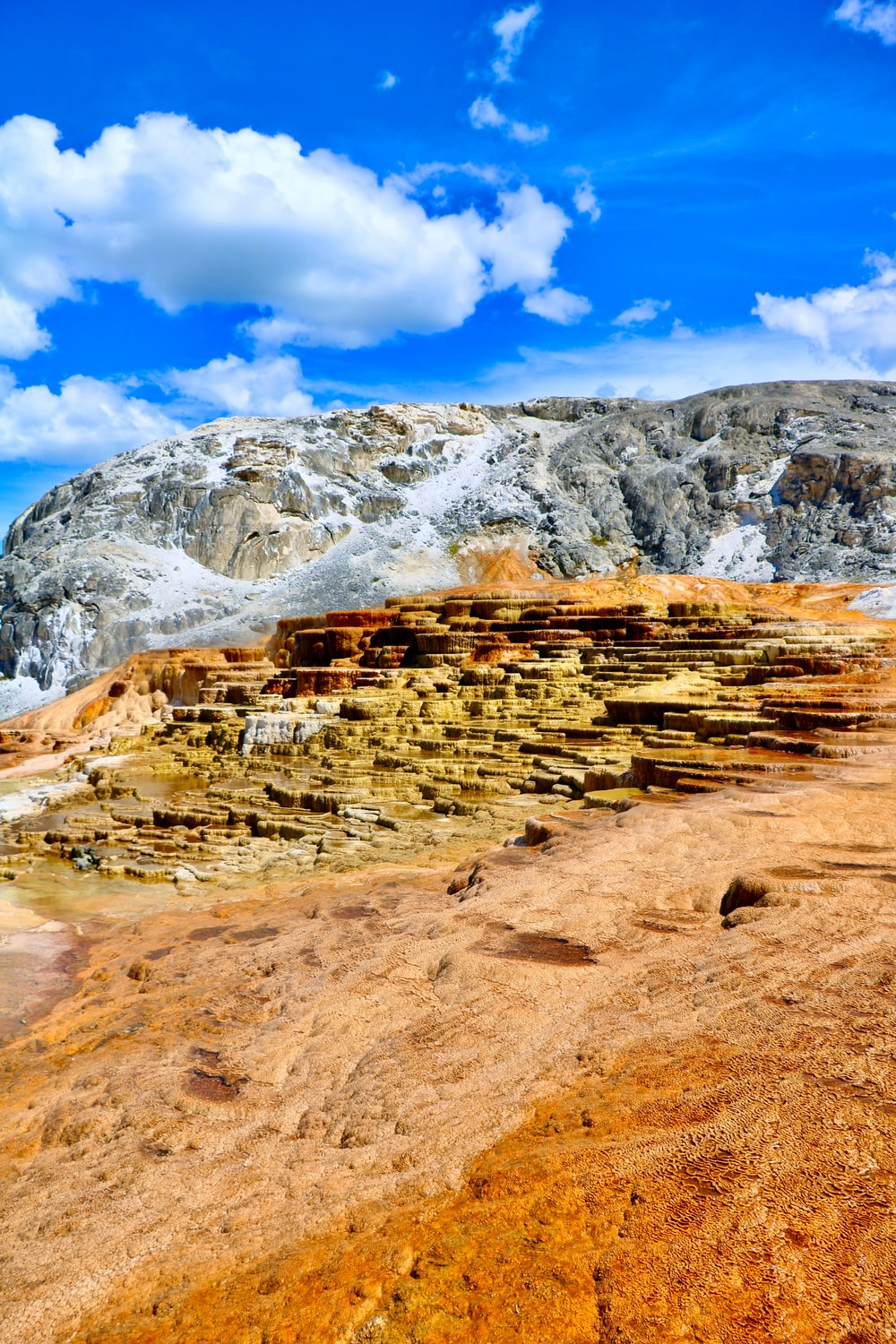 rocky mountain under blue sky during daytime