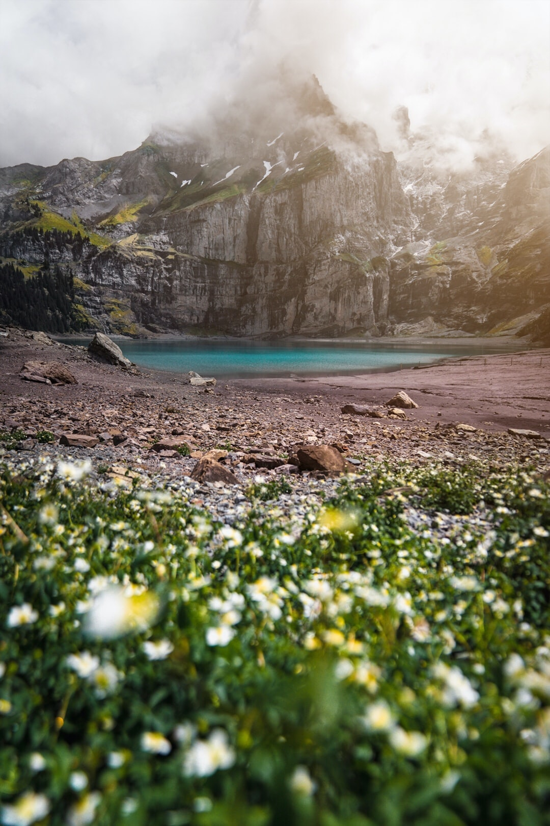 A peaceful place in the Bernese Alps