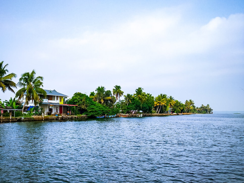 Alleppey in Kerala, South India
