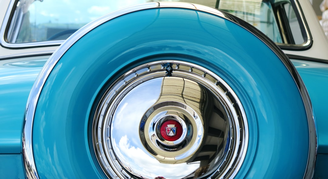 Spare wheel of a Ford Fairlane