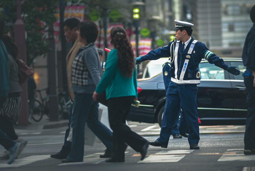 Traffic policeman.