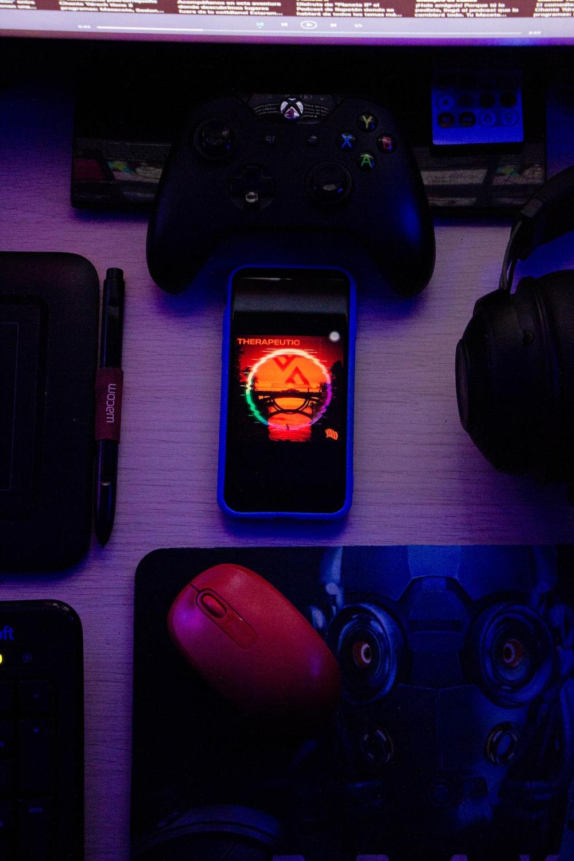 black nintendo game boy game controller