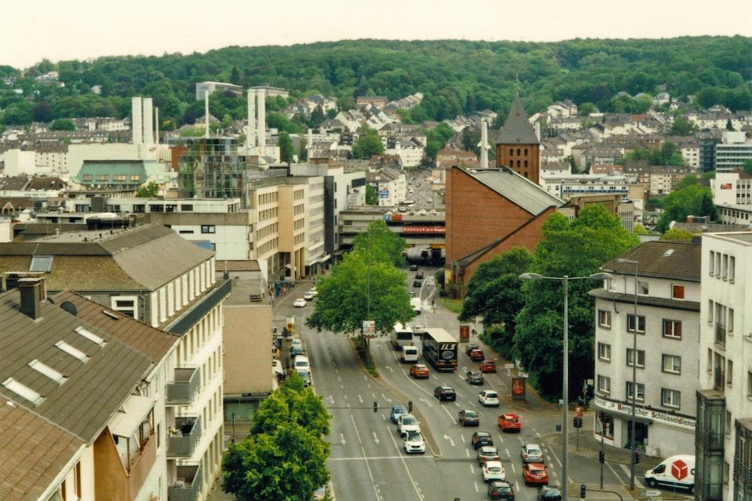 View on Barmen's Steinweg.